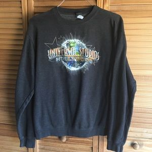 Men's Universal Studios Dark Gray Sweatshirt